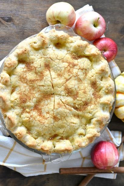 Apple Pie on Table