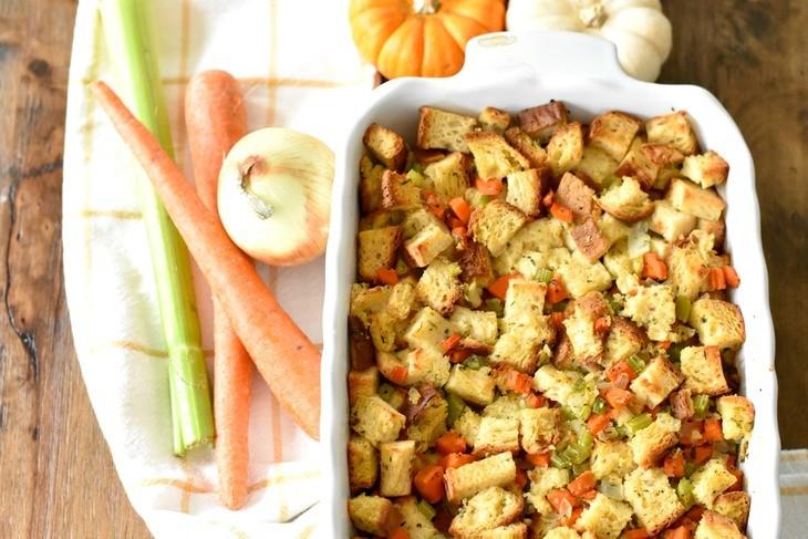 Gluten Free Vegan Stuffing