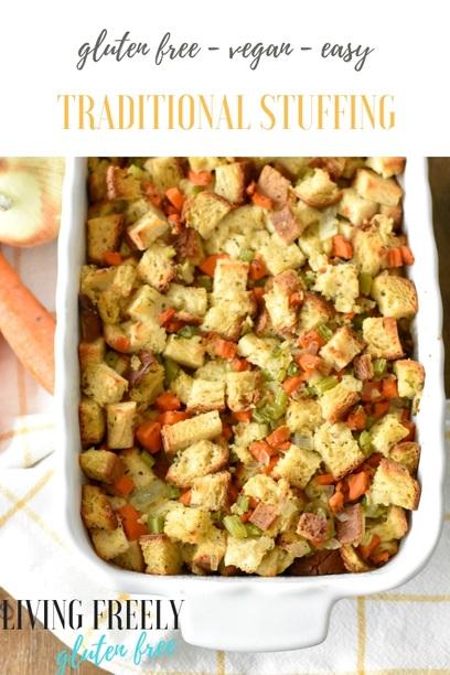 PIN Gluten Free Vegan Stuffing