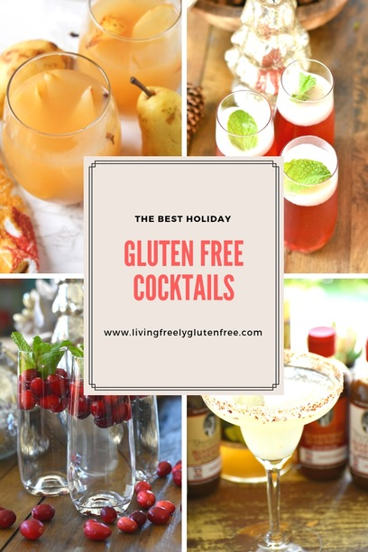 The best holiday gluten free cocktails