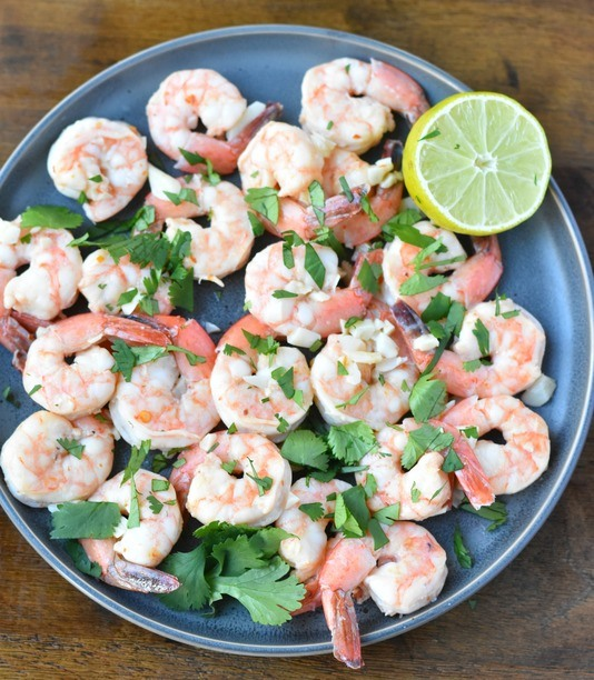 Cilantro Lime Shrimp with Cauli Rice