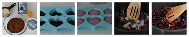Easy No Bake Vegan Cheesecake Recipe Process Shots