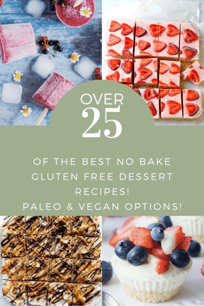 PIN Over 25 no bake dessert recipes