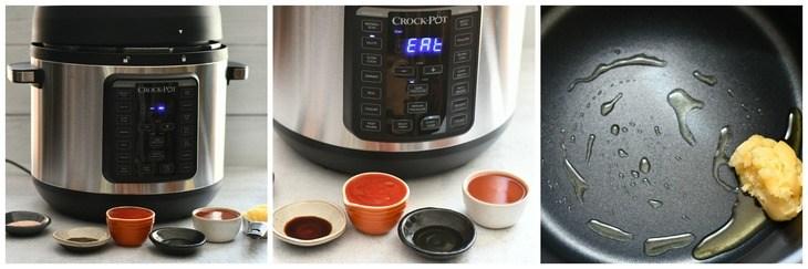 process shot of ingredients