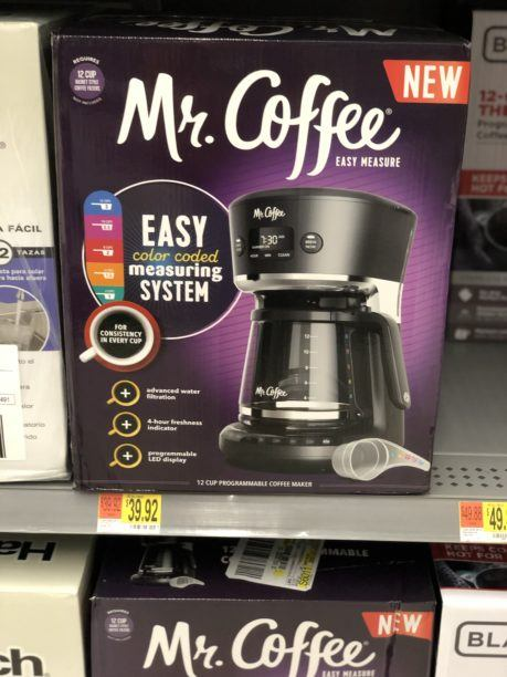 Mr Cofffee box