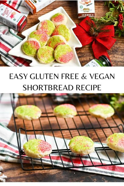 PIN for gluten free shortbread cookies