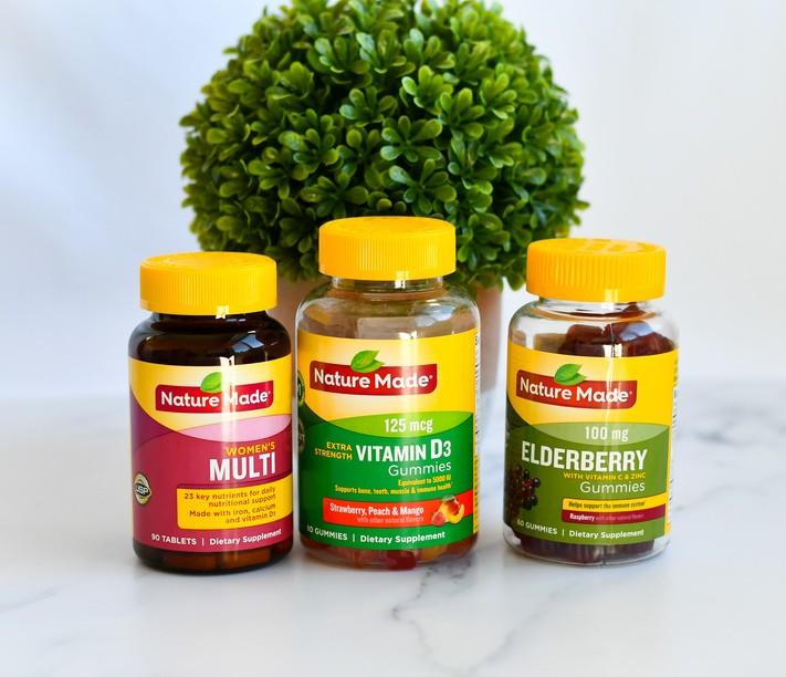 Nature Made Multi, Vitamin D and Elderberry