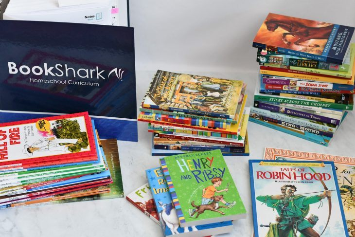 the entire bookshark homeschool curriculum package