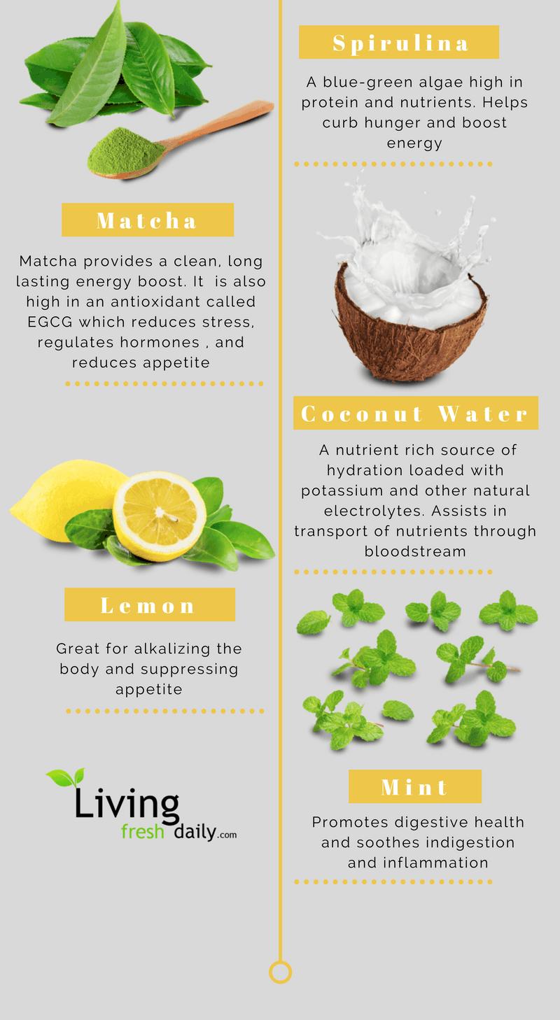 organifi green juice ingredients