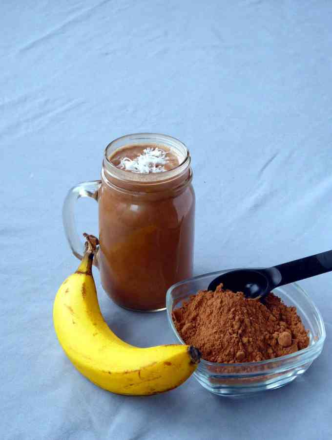 Creamy Peanut Butter Cacao Smoothie