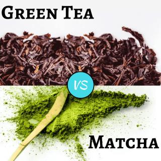 green tea vs matcha