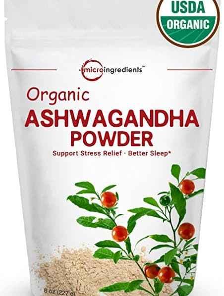 Ashwagandha superfood supplement