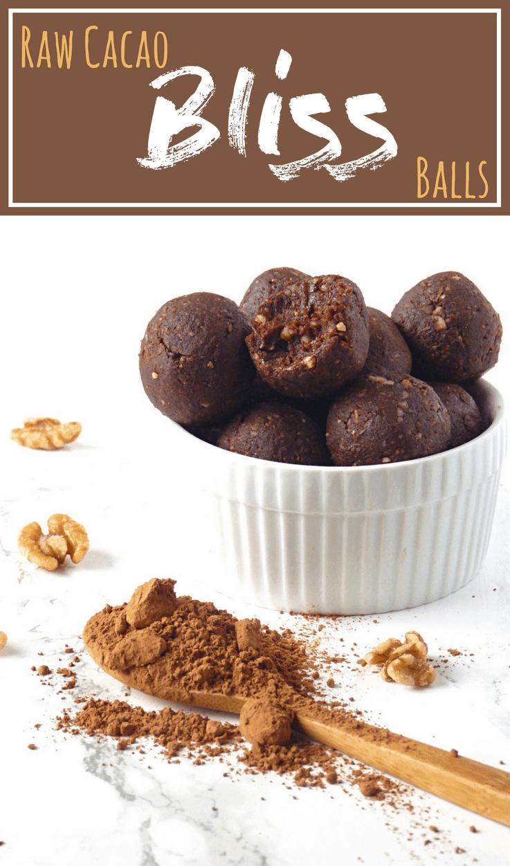 Chocolatey Cacao Bliss Balls Recipe