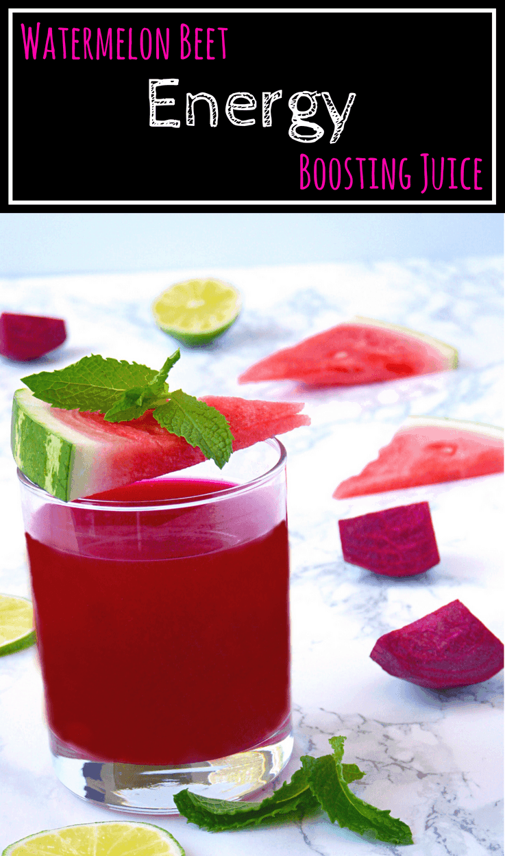 Watermelon Beet Energy Boosting Juice