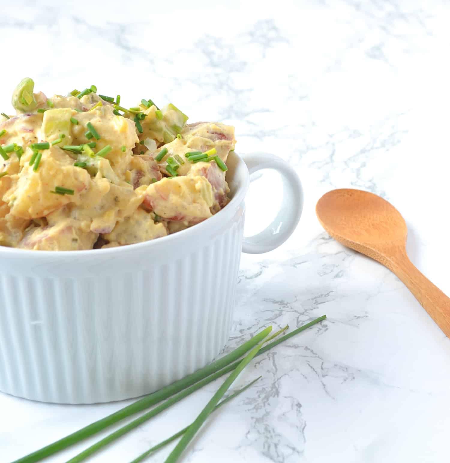 easy vegan potato salad recipe