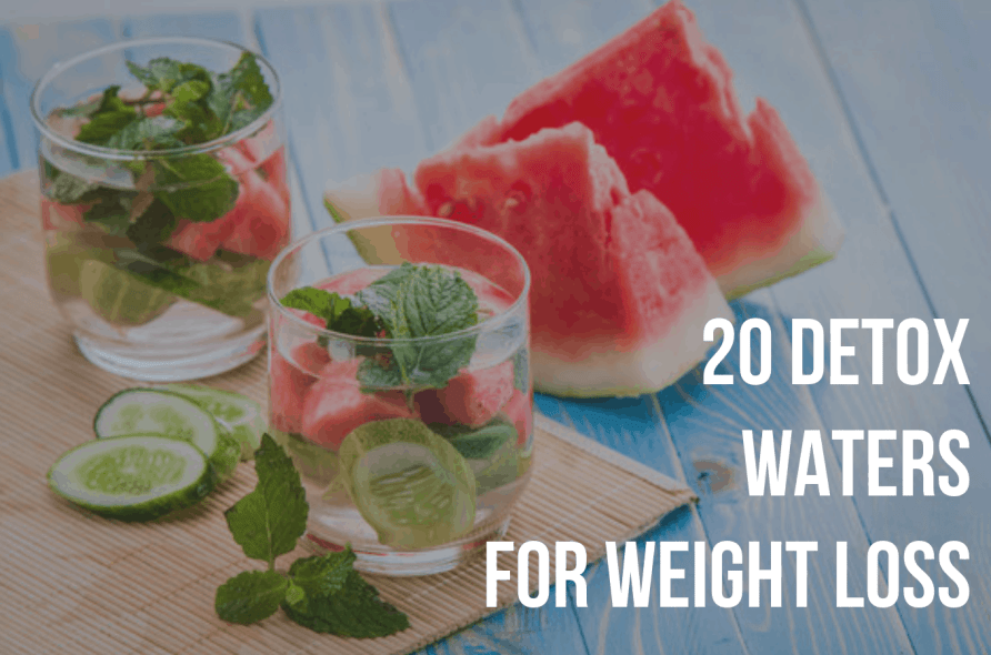 20 Detox Water Recipes for Weight Loss