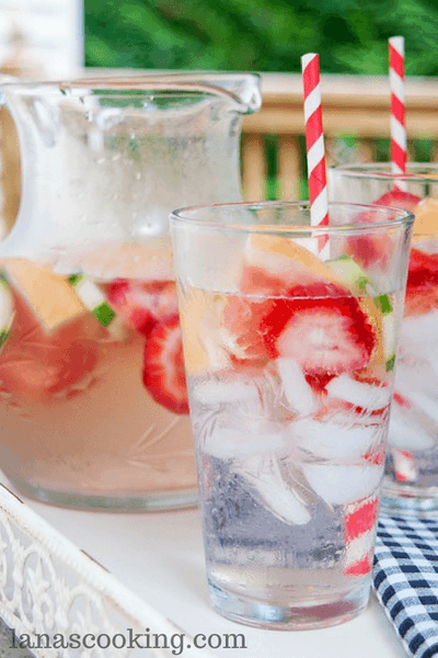 Summer Refresh Detox Water