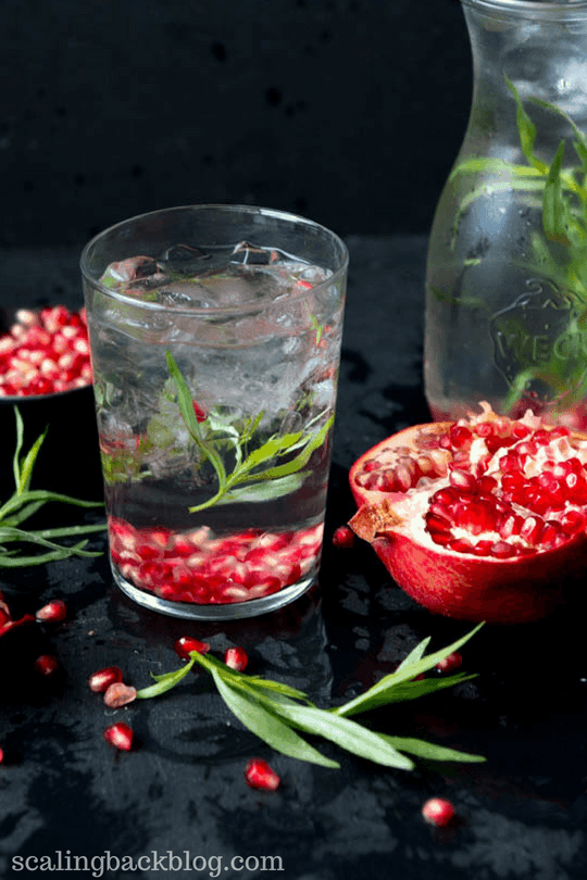 pomegranate infused water recipe for weight loss