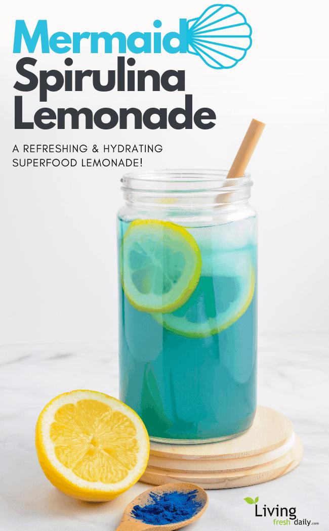 Mermaid lemonade pin
