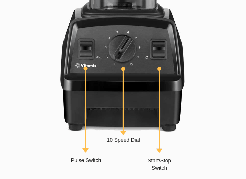 vitamix E320 vs E310 controls
