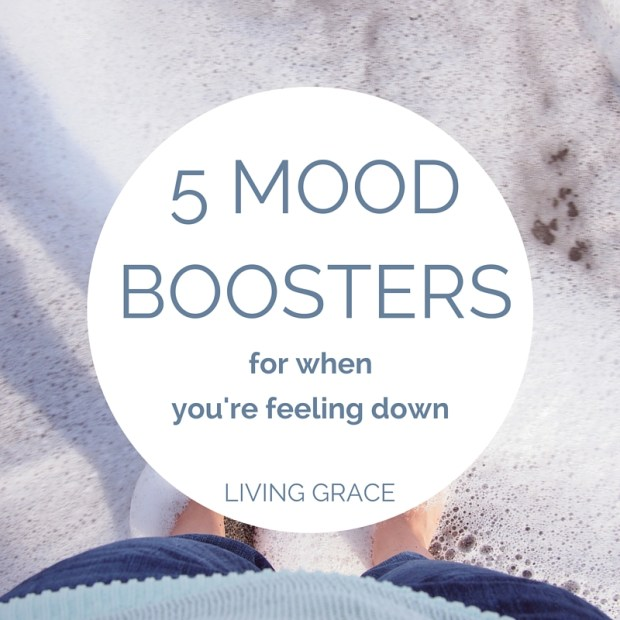 5 easy changes you can make to boost your mood | Living Grace Blog