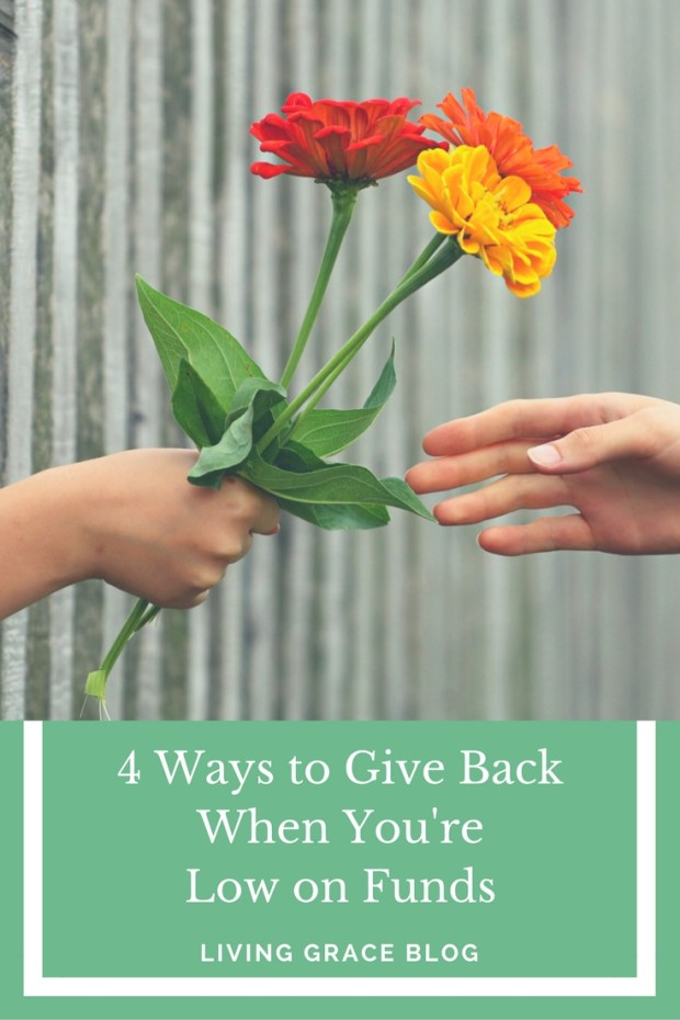 4 ways you can give back when you're chronically ill and low on funds!
