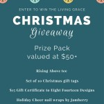 Enter to win this Holiday Prize Pack on Living Grace Blog!