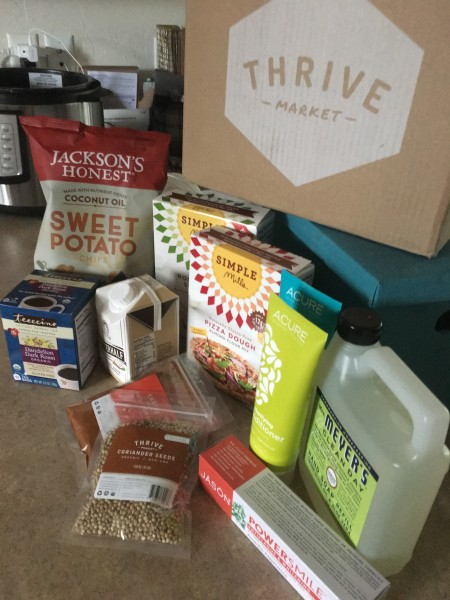 If you're looking to save money on organic, Paleo or gluten free products, Thrive Market will deliver them right to your door. And for 25-50% less than your local grocery store!