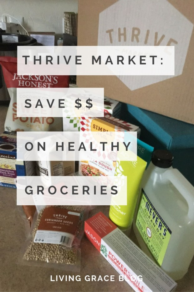 Who knew you could buy healthy groceries AND save money?! Have you checked out Thrive Market? Click here to check out the free gift you get when you sign up for a trial membership.