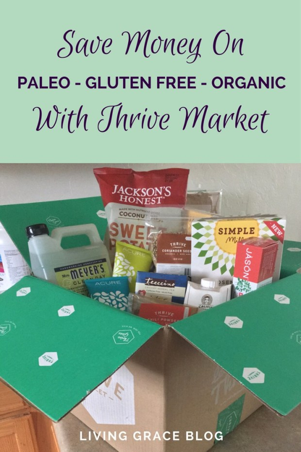 Want to save money on gluten-free, organic, natural, or Paleo items? Thrive Market will save you 25-50% and deliver right to your door!