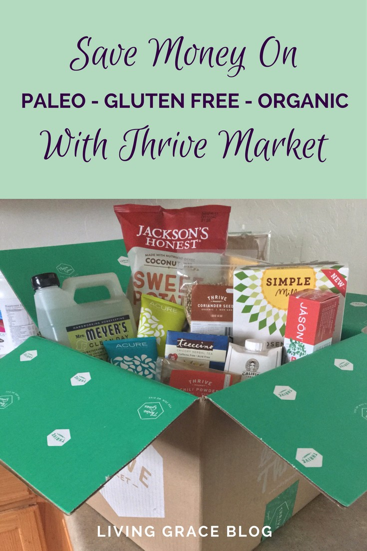 Thrive Market Review: Saving Money on Organic + Paleo