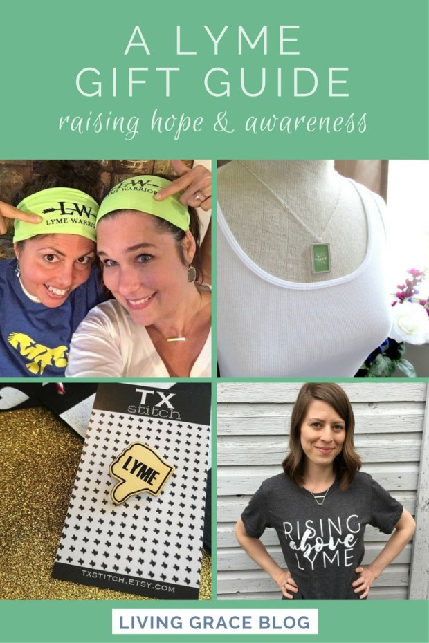 Lyme Awareness Wear: Gifts and Apparel for those healing from Lyme Disease. Click to check out all of these amazing creatives!