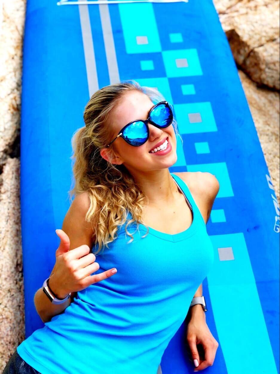Hawaii, Gracie Hunt, Black, Blog, Swimsuit