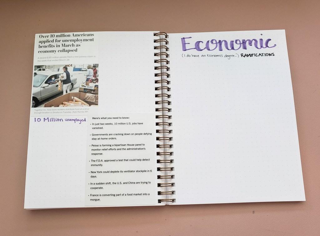 Coronavirus Journal Economics