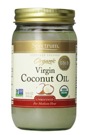 Spectrum Organic Coconut Oil, Unrefined