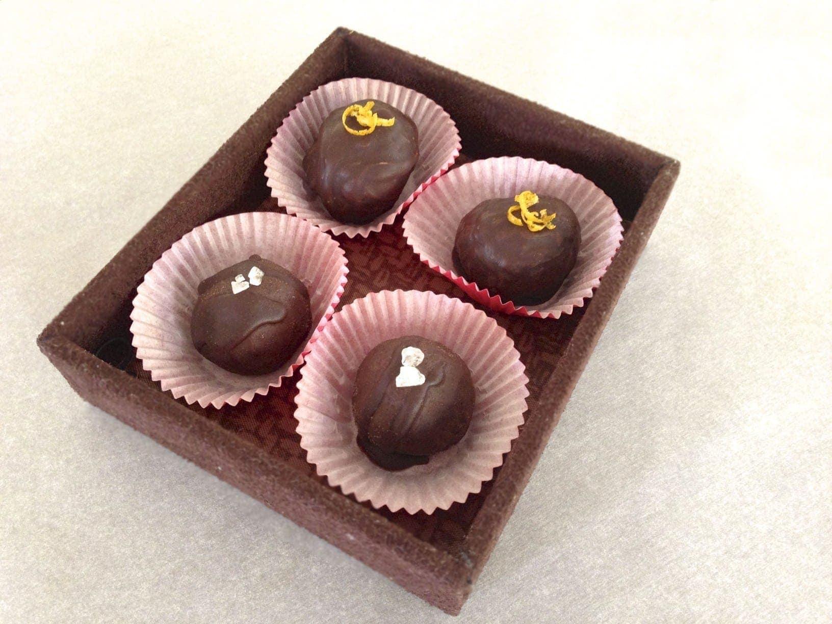 paleo chocolate truffle