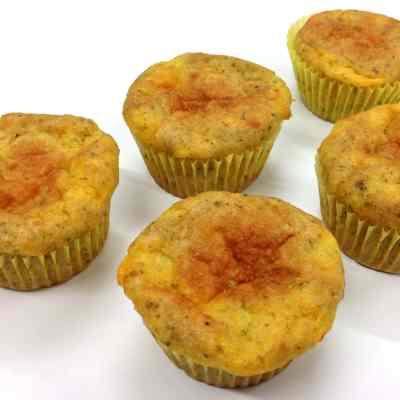 Grain Free Cheesy Oregano Muffin (Gluten Free, Paleo)