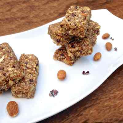 Cacao Nibs & Coconut Energy Bars
