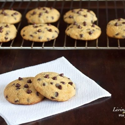 Paleo Soft and Chewy Chocolate Chip Cookies