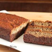 Paleo Black Bottom Banana Bread Recipe