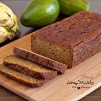 Avocado Banana Bread