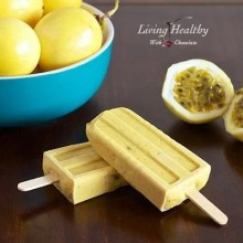 Paleo Creamy Passion Fruit Popsicles