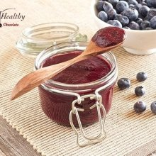 Paleo Sugar Free Blueberry Butter