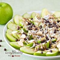 Apple 'Nachos' (Gluten-free, Keto, Paleo)