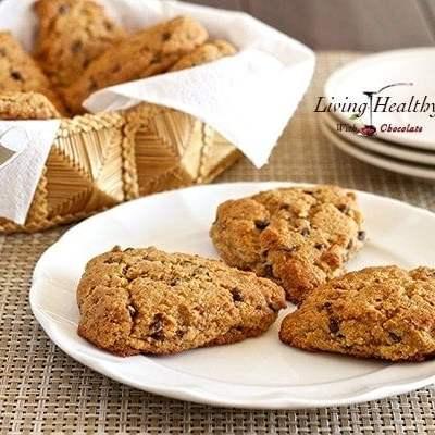 Chocolate Chip Scones (gluten & grain free)