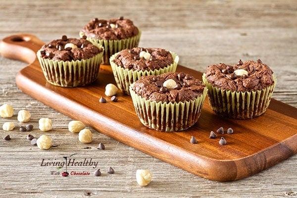 Paleo Chocolate Hazelnut Nutella Muffins Recipe