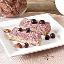 Blueberry Breakfast Bars (gluten-free, grain-free, dairy free)