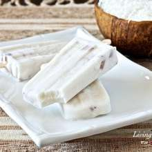 Paleo Coconut Popsicle Recipe (dairy/gluten/egg-free)