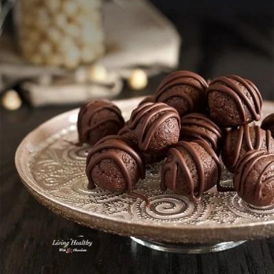 Chocolate Hazelnut Fudge Bites (gluten-free, grain-free, dairy-free)