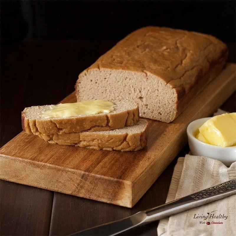 Paleo Sweet Bread (nut-free, gluten-free, grain-free, dairy-free, sugar-free) by #LivingHealthyWithChocolate